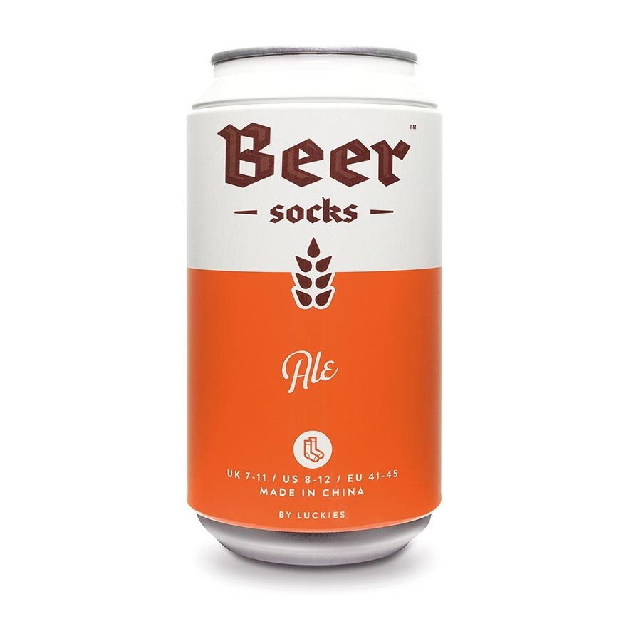 LUCKIES-BEER-SOCKS-Novelty-Socks-In-a-Can-Fun-Gift-Size-7-11-NEW thumbnail 8
